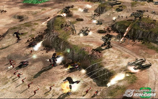 Xbox 360 Strategy Games : Command conquer and