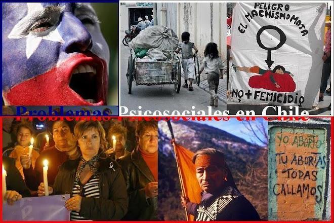 problemas psicosociales en chile