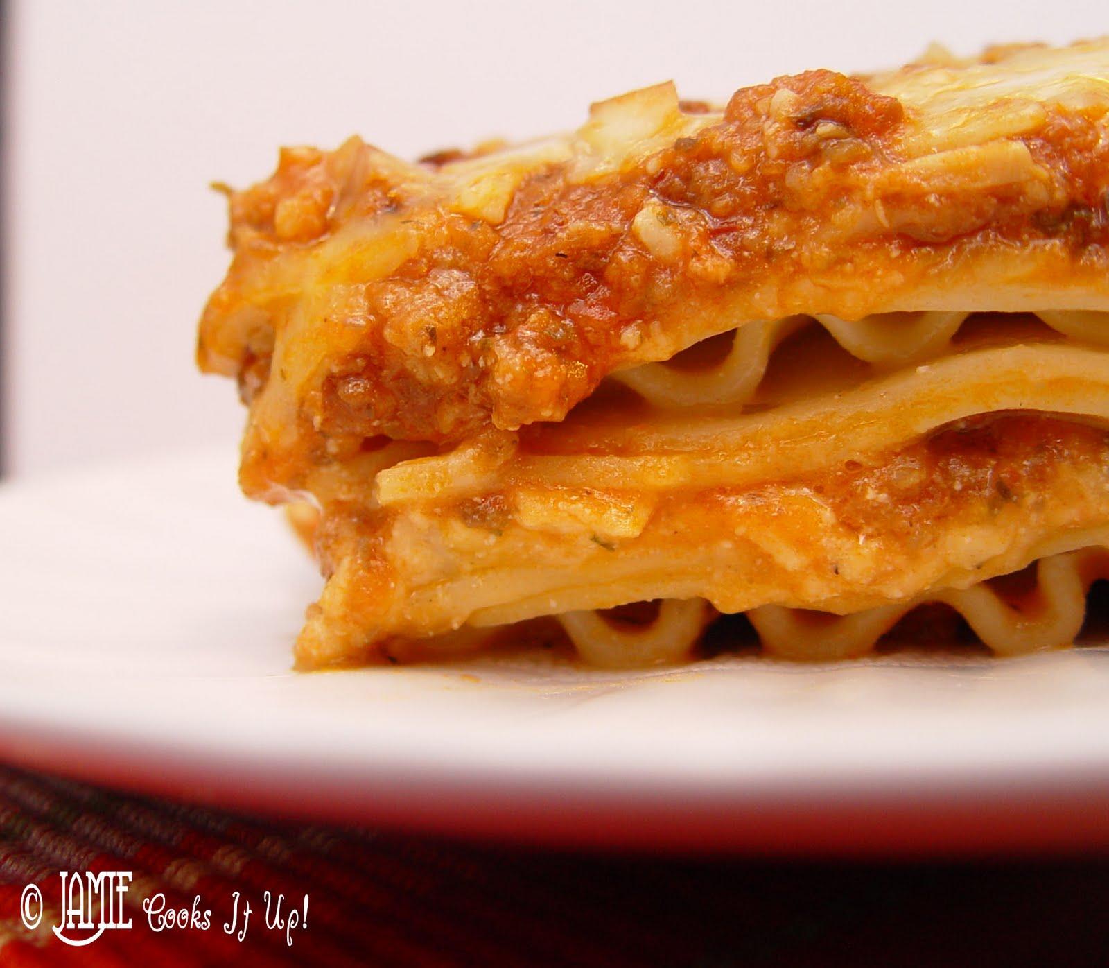 Luscious Italian Lasagna