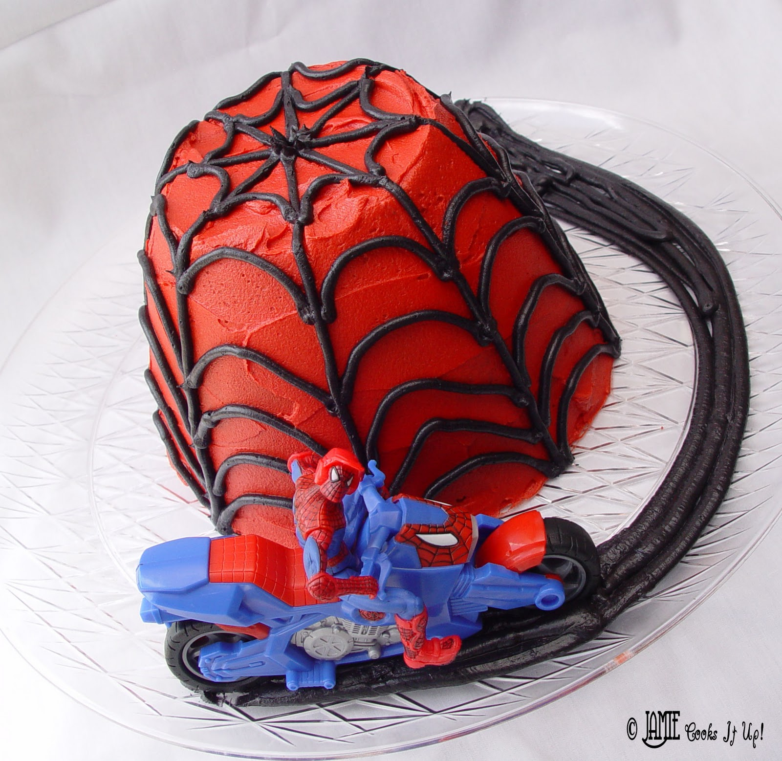 Easy Spider Man Cake Jamie Cooks It Up Family Favorite Food And