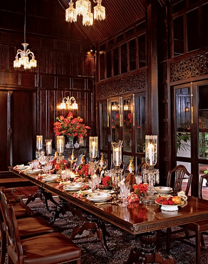 gothic dining room formal dining room