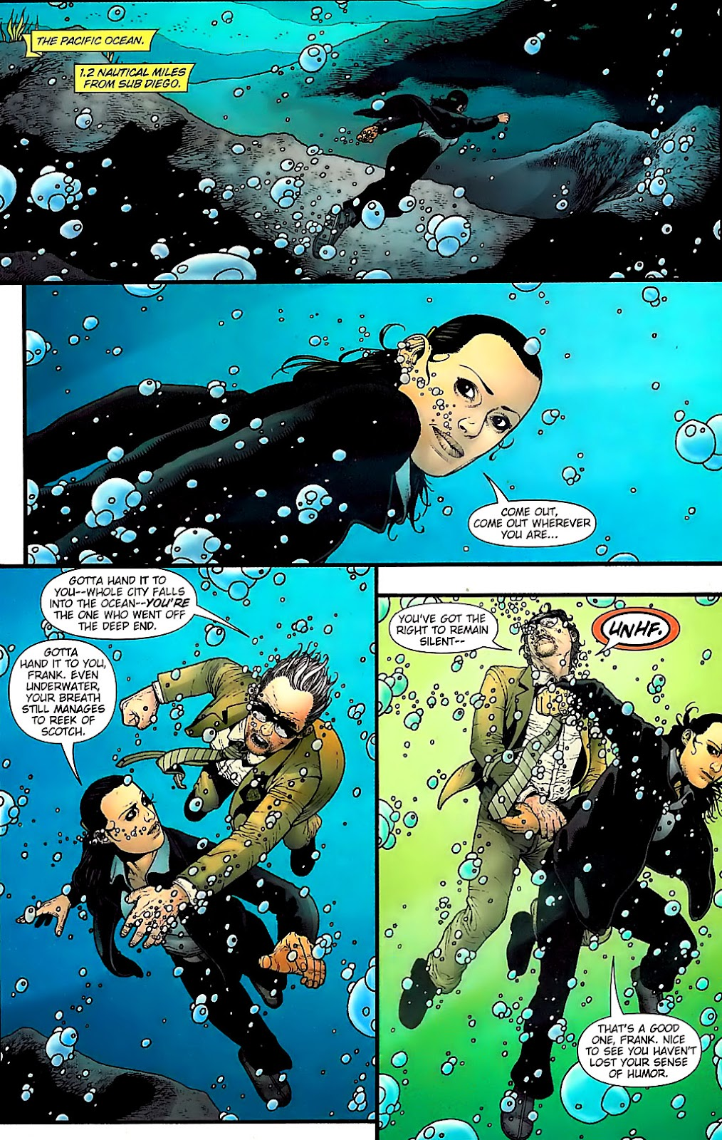 Aquaman (2003) Issue #31 #31 - English 12