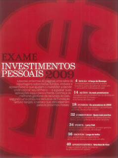 Investimentos Pessoais 2009