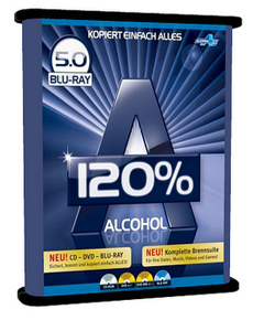 Alcohol 120% 5.0 Blu-ray
