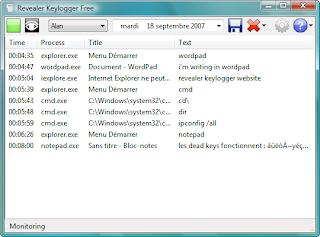 Revealler Keylloger