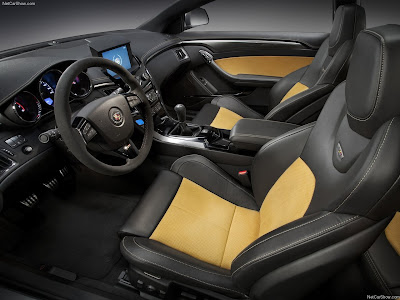 Cadillac Cts V Coupe Interior. Cadillac CTS-V Coupe 2011 car