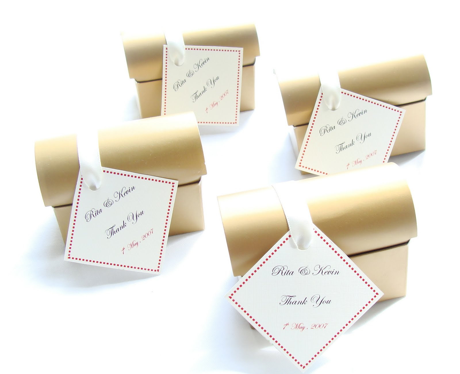 Finest Expressions: Wedding Favours