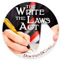 "End Bureaucratic ""Legislation without Representation"" with the ""Write the Laws Act"""