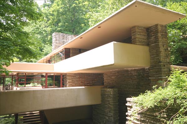 frank lloyd wright s fallingwater organic design On his first trip back to frank lloyd wright's famed house in years, aaron betsky  sees fallingwater as a masterpiece of weaving.