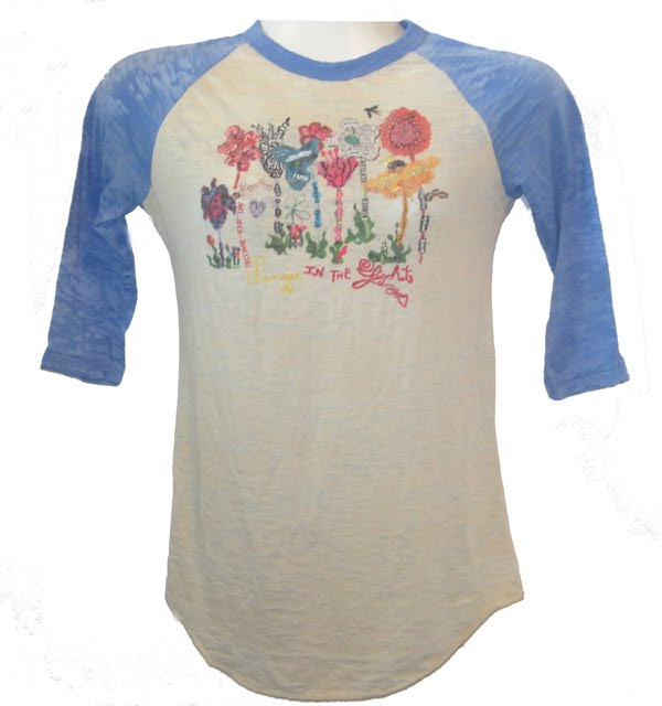Whimsical Garden: New TShirts from CuttingUp
