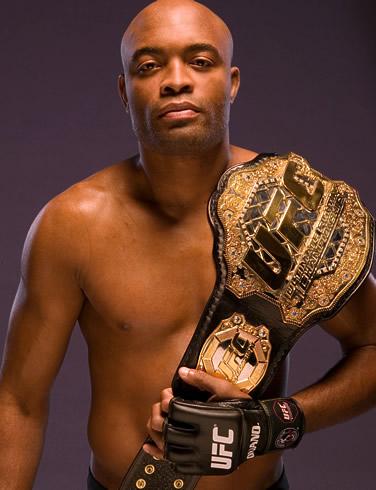 Anderson Silva - Campeão dos Pesos Médios do UFC
