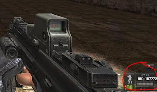 Kemudian Lihat Kemampuan Senjata MP7 Ext. yang saya lingkari …