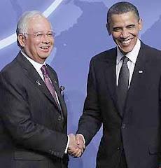 Najib & Obama