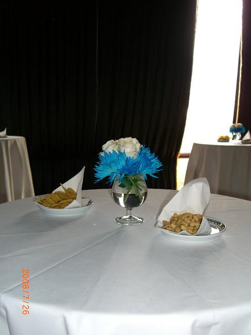 Mesas de aperitivos