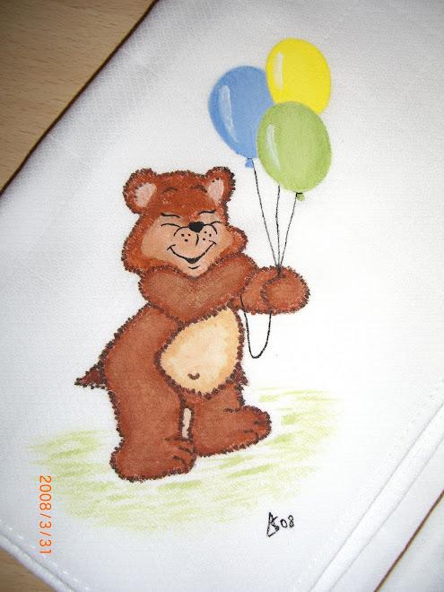 Urso com Balões