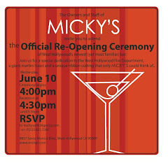 Micky's Grand Re-Opening