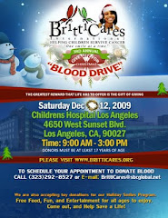 BrittiCares Blood Drive  12-12-2009