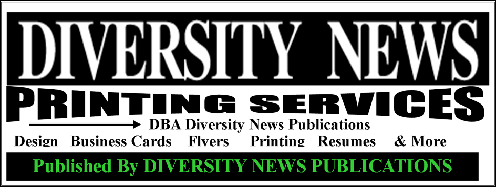 DIVERSITY NEWS PRINTING SERVICES