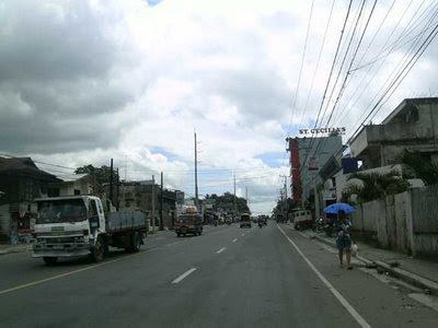 Minglanilla Town on the way