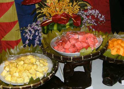 Maribago Dinner presentation