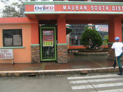 mauban south elementary school