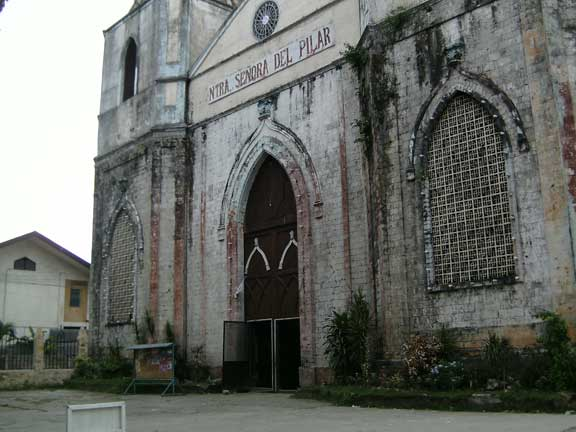 Sibonga Church in Sibonga Cebu
