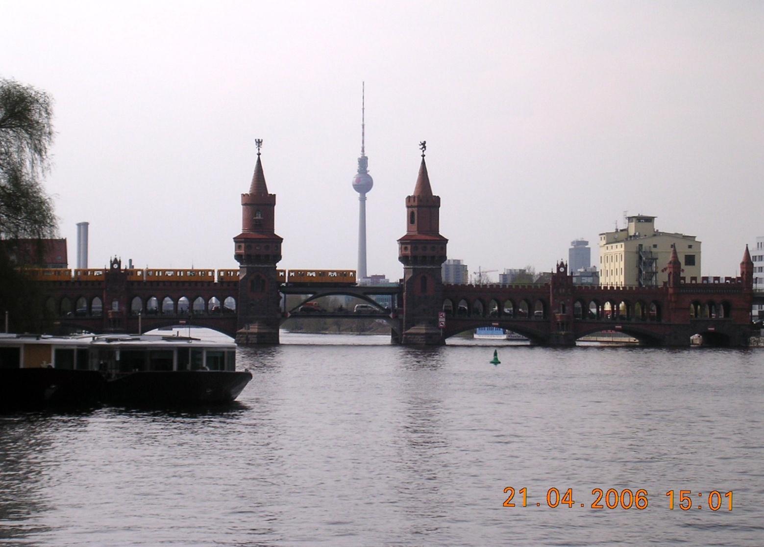 Berlin Funkturm Oberbaumbrücke