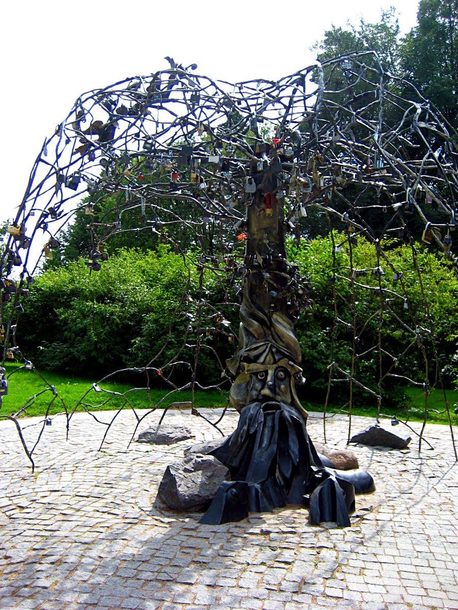 Дерево из металла своими руками