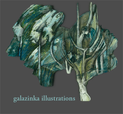 galazinka illustrations