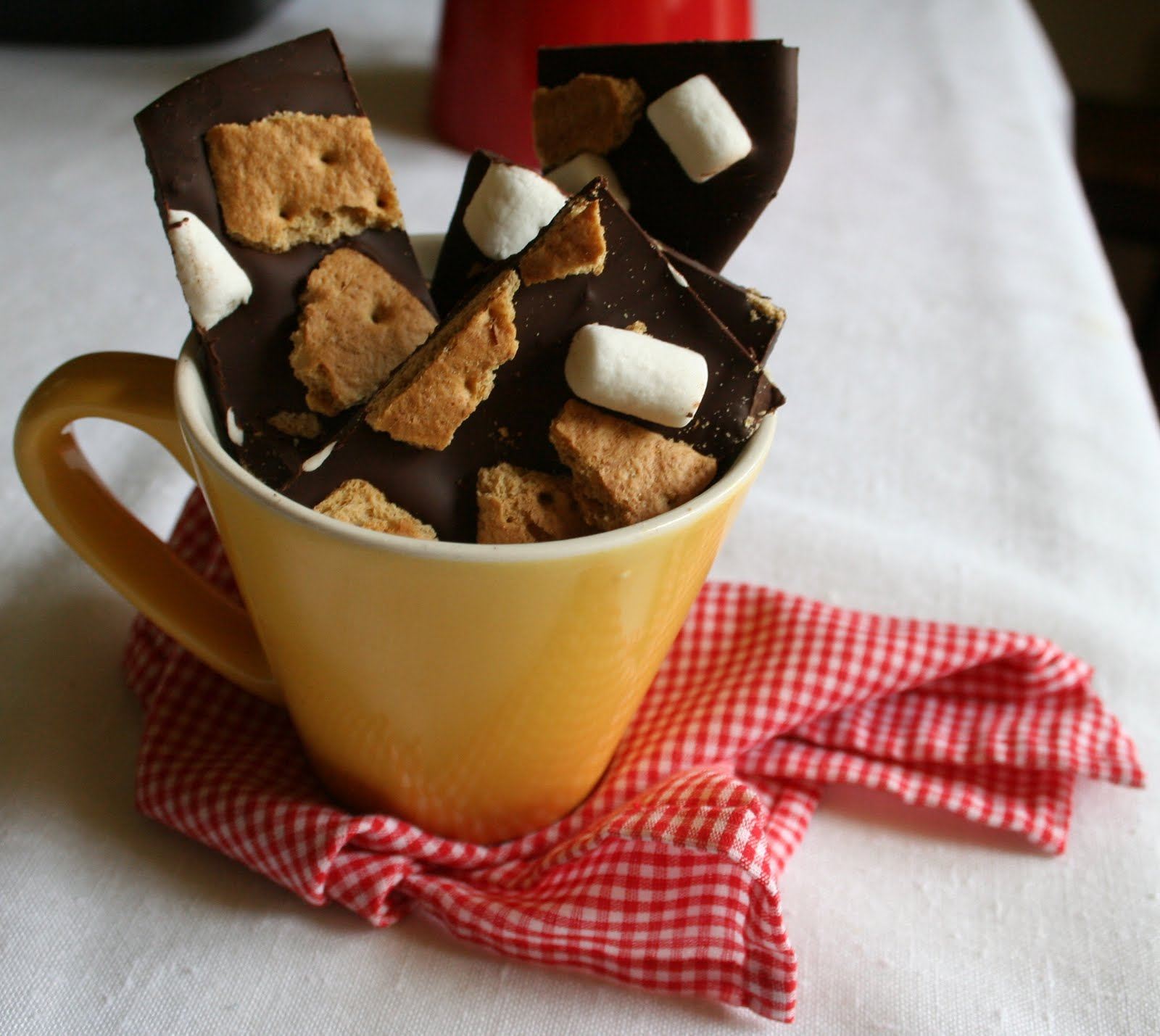 Baking Down By The Bay: S'mores chcolate bark