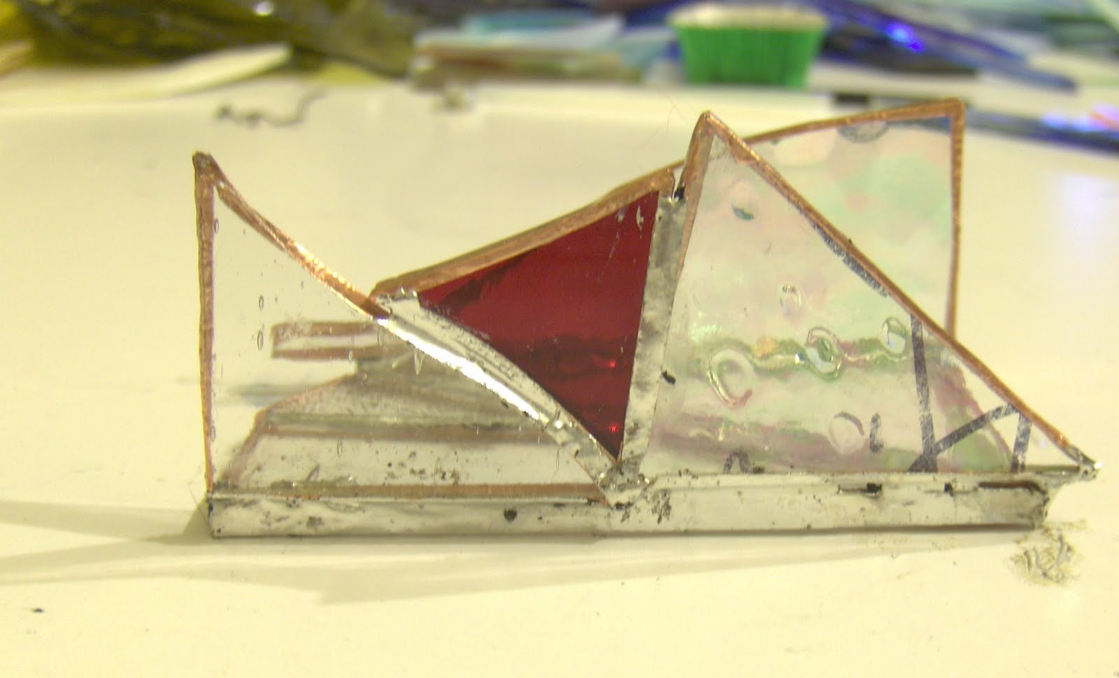 Glass Paper Etcetera-s: Business Card Holder #5