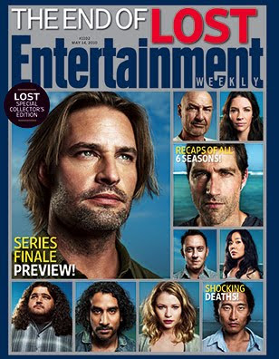 Entertainemnt Weekly Issue #1102 - May 14, 2010 - LOST Collector's Covers Newstand Edition