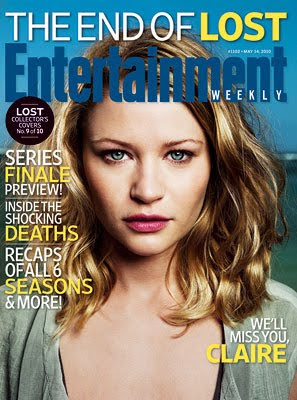 Entertainemnt Weekly Issue #1102 - May 14, 2010 - LOST Collector's Covers 9 of 10 - Emilie de Ravin as Claire Littleton