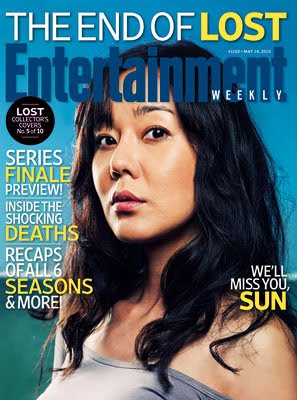 Entertainemnt Weekly Issue #1102 - May 14, 2010 - LOST Collector's Covers 5 of 10 - Yunjin Kim as Sun-Hwa Kwon