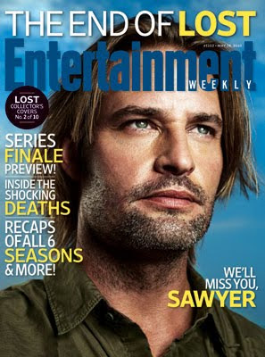 Entertainemnt Weekly Issue #1102 - May 14, 2010 - LOST Collector's Covers 2 of 10 - Josh Holloway as James 'Sawyer' Ford