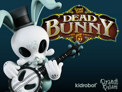 Kidrobot - Dead Bunny 6.5 Inch Vinyl Figure by Brandt Peters