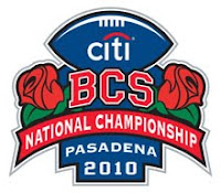 2010 BCS National Championship Game logo