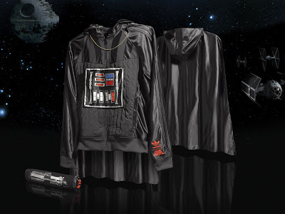 Star Wars x adidas Originals - Darth Vader Hooded Track Jacket