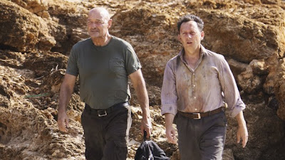 Lost - LA X - Terry O'Quinn as John Locke and Michael Emerson as Ben Linus