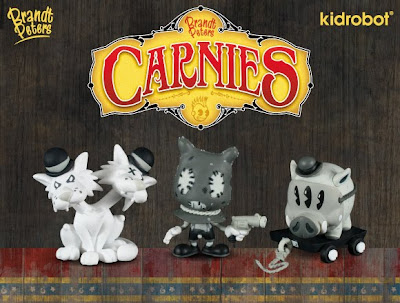 Kidrobot - Carnies Blind Box Mini Vinyl Figure Series by Brandt Peters