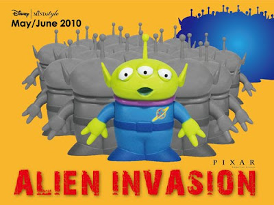 MINDstyle x Disney Toy Story Alien Invasion Artist Series
