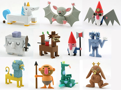 Kidrobot - Tic Toc Apocalypse Mini Series Blind Boxed Vinyl Figures by Amanda Visell