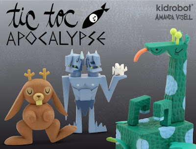 Kidrobot - Tic Toc Apocalypse Mini Series by Amanda Visell
