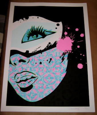 PaperMonster x Abztract True Identity Screen Print
