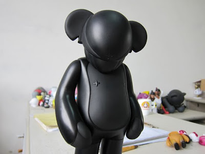 Art Asylum Boston Exclusive All Black Arkiv Instant Vinyl Figure by AdFunture & Arkiv