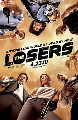 The Losers Comic Book Inspired One Sheet Movie Poster