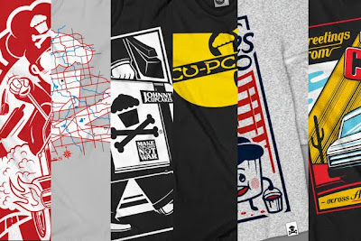 Sneak Peek - Johnny Cupcakes Suitcase Tour Exclusive T-Shirts