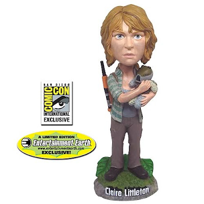 San Diego Comic-Con 2010 Exclusive Claire Littleton LOST Bobble Head by Bif Bang Pow! and Entertainment Earth