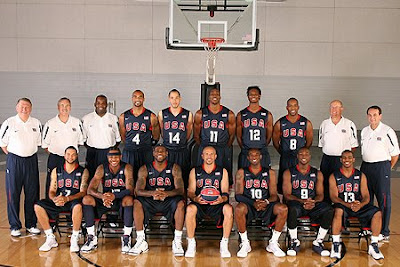 The 2008 USA Men's Basketball Olympic Team