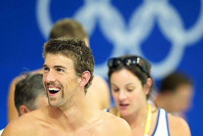 U.S. Olympic Swimmer Michael Phelps